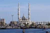 Вид на город Порт-Саид.
