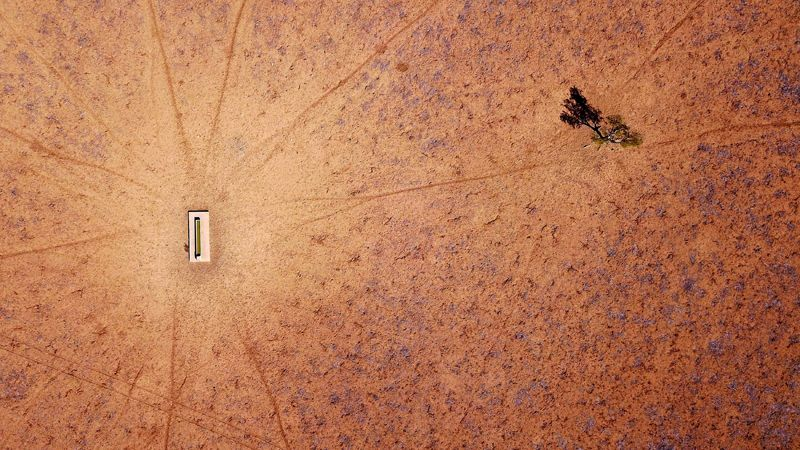 Засуха в Новом Южном Уэльсе, Австралия, 20 июля 2018 года.