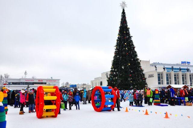 На Центральной площади пройдут самые массовые и весёлые мероприятия.
