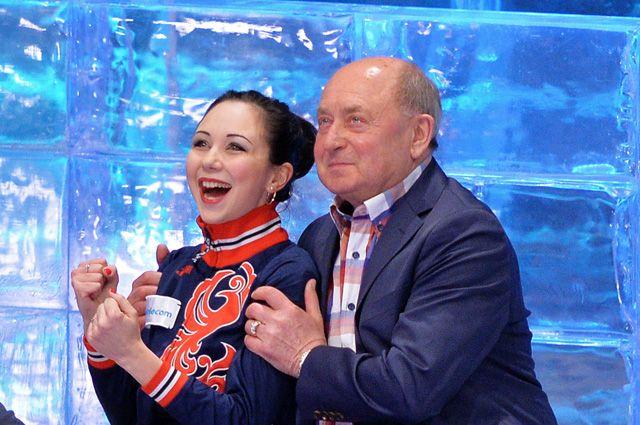 Алексей Мишин и его ученица Елизавета Туктамышева.