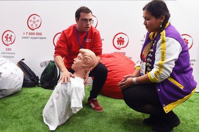 Медицинское волонтёрство – часть образовательного процесса.