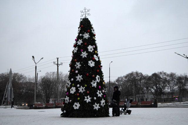 В Киеве вандалов от елок будут отпугивать вонючим раствором