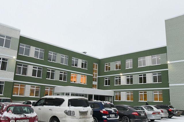 Новая школа в квартале 2008