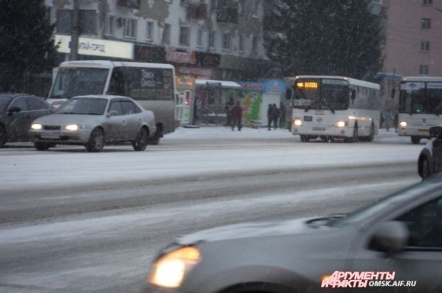 Транспорт Омска