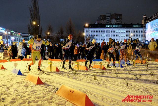 Соревнования прошли в самом центре города.
