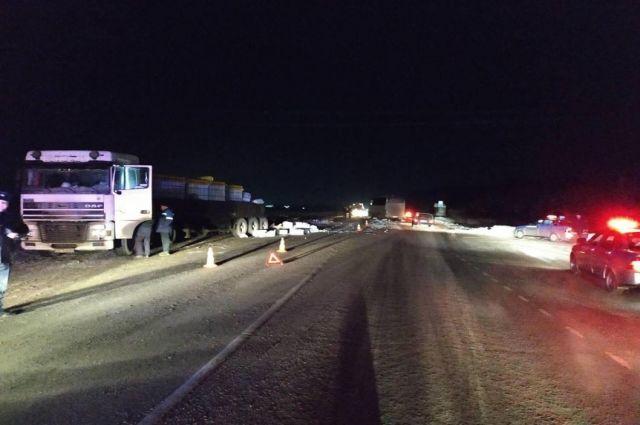 В ДТП под Тюменью погиб водитель рейсового автобуса