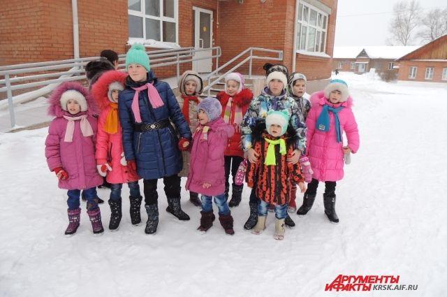 Воспитанники Большемуртинского интерната передали свои пожелания Деду Морозу.