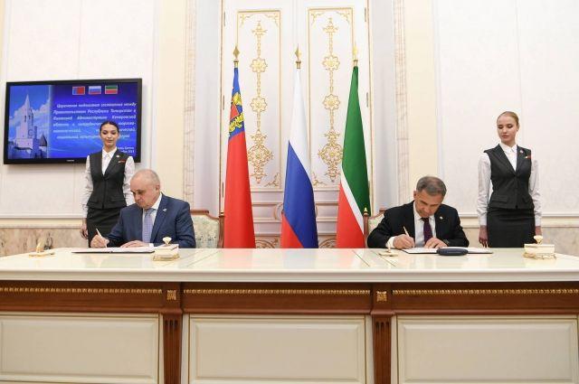 Делегация Кемеровской области во главе с Сергеем Цивилевым отправилась в Республику Татарстан.