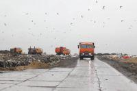 Архангельская городская свалка: будто городу своего мусора мало.