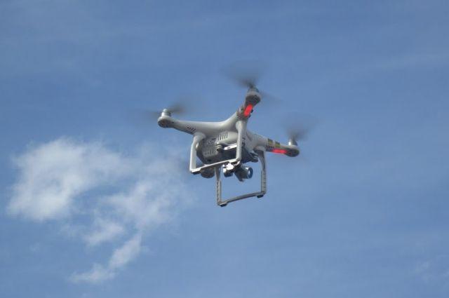 Новосибирец запускал дроны в Центральном районе.