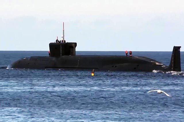 Подводный крейсер «Юрий Долгорукий».