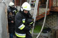 В Херсоне пожарные спасли из пылающего дома семь домашних животных