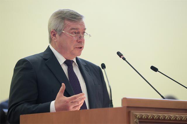 Губернатор Ростовской области Василий Голубев.
