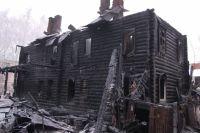 Многоквартирный дом в Сарапуле полностью сгорел 19 декабря.