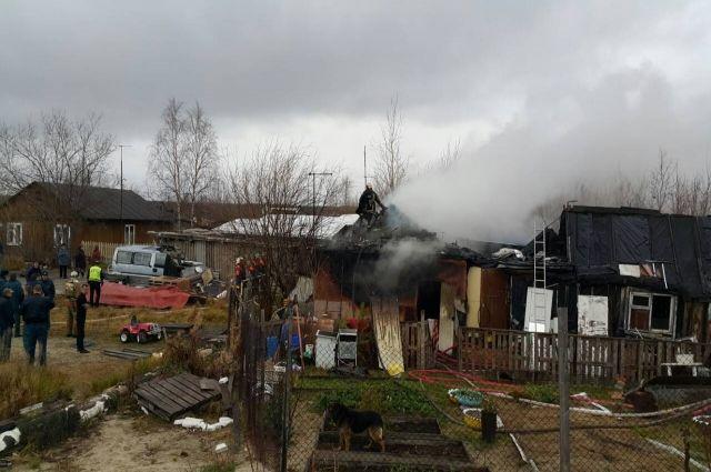 Ноябрянина обвиняют в пожаре, который унес жизни женщины и ребенка
