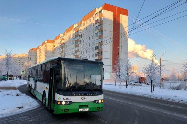 автобусы изменят схему маршрута