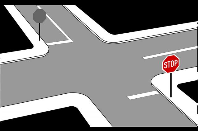 На двух перекрестках Салехарда разрешили поворот направо без остановки