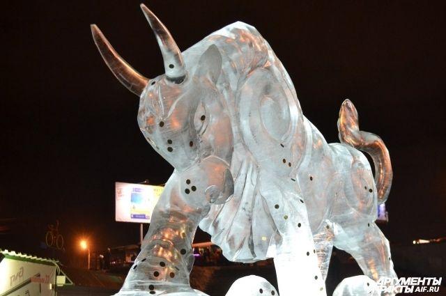 Фестиваль снега и льда проводится в Красноярске с 2013 года.