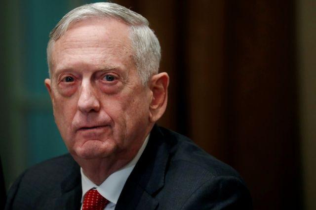 Джеймс Мэттис уйдет споста руководителя Пентагона