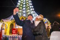 Мороз не испортил праздничное настроение тем, кто пришел к главной елке.