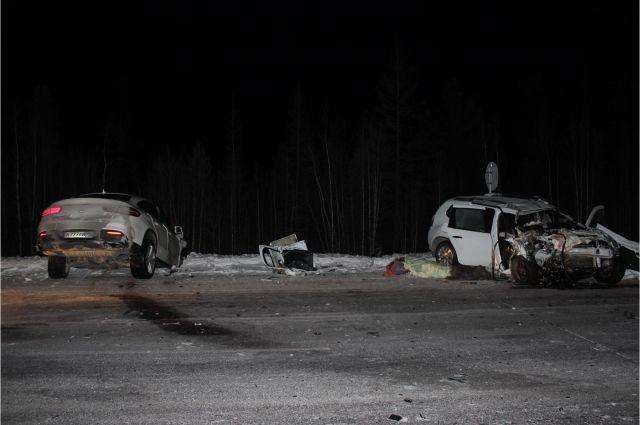 В ДТП на трассе «Сургут-Салехард» погибла 60-летняя пассажирка
