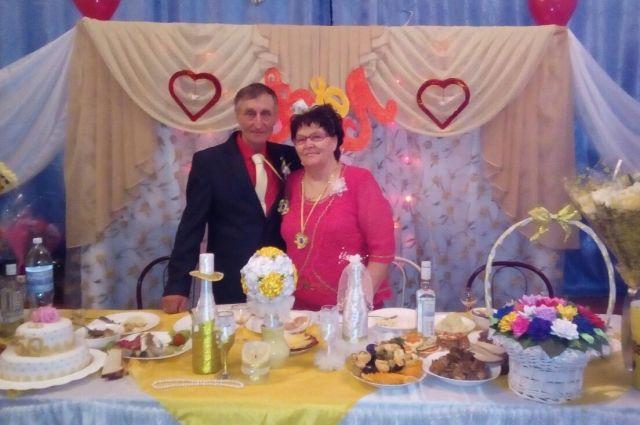 Супруги в 2018 году отметили золотую свадьбу.