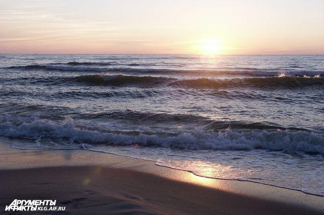 В Балтийском море утонул дайвер.