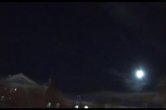 Видео было снято 20 декабря возле ДК Солдатова.