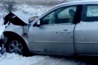 На трассе Зеленоградск-Приморск «Форд» протаранил встречную «Мазду».