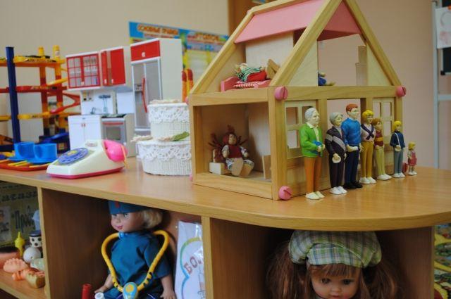 В новых детских садах будут и ясельные группы.