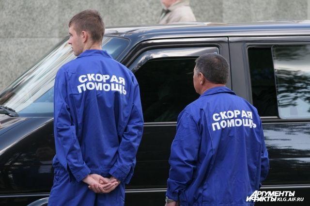 В Калининграде на фельдшера «скорой» напала собака.