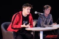 Александр Домогаров и Александр Головин играют в фильме пермяков, но в реальной жизни впервые посетили наш город.