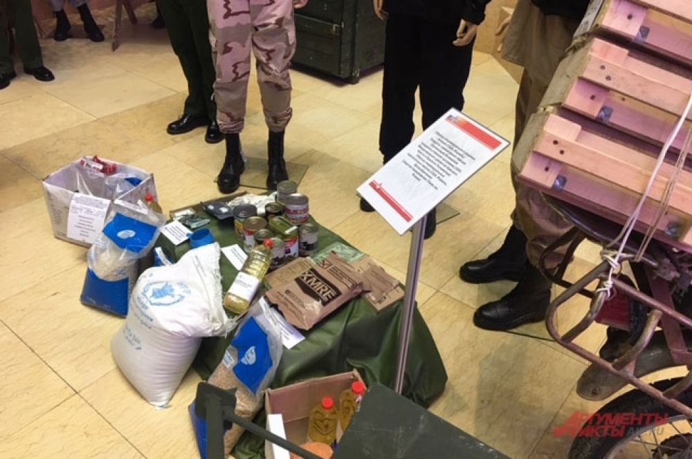 Продовольственная помощь международных организаций сирийским детям вдруг оказалась у боевиков.