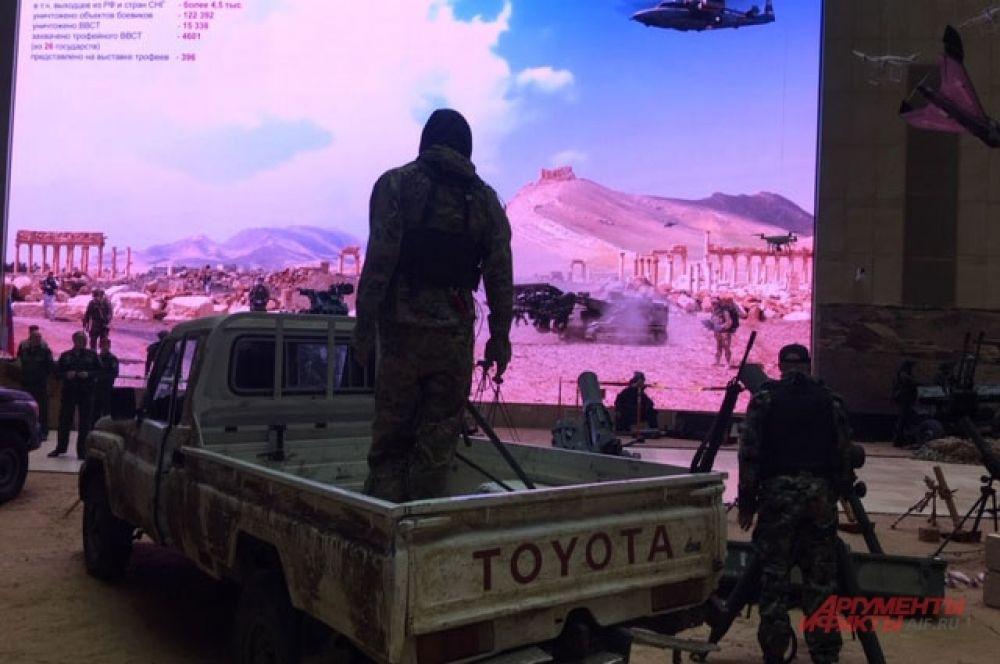 Такие «Тойоты» знакомы нашим военным еще по Афганистану и Чечне.