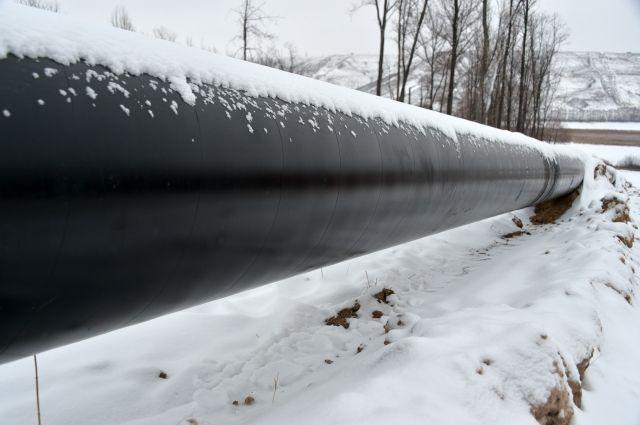 В Якутии прекратилось горение на магистральном газопроводе photo