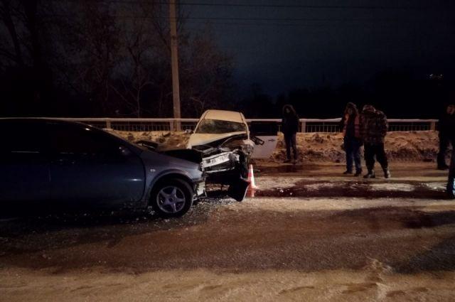 В аварии погибла молодая девушка.