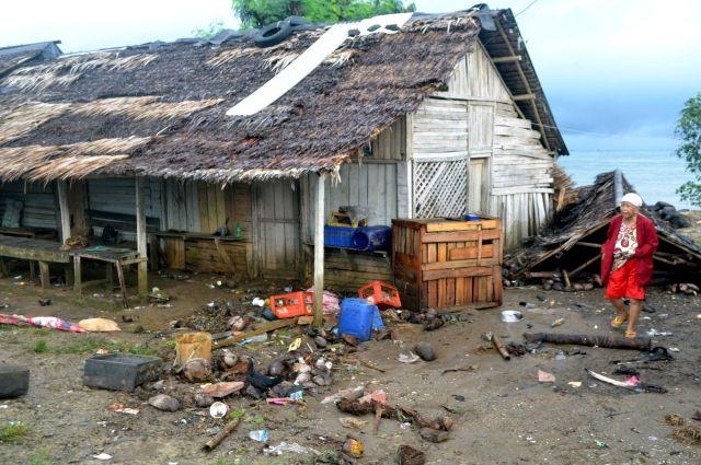 Цунами забрало жизни 20 человек вИндонезии