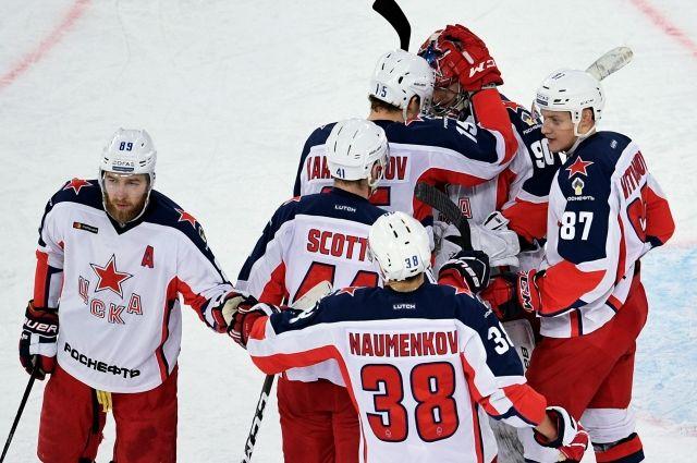 ЦСКА победил СКА четвертый раз подряд в сезоне photo