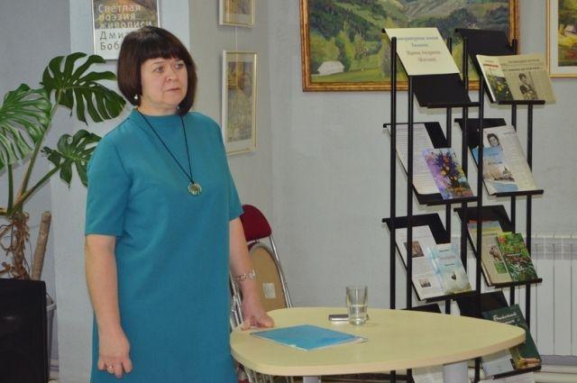 Тюменцы встретились с писательницей, работающей в жанре деревенской прозы