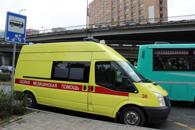 Пострадавшую с травмами доставили в больницу.