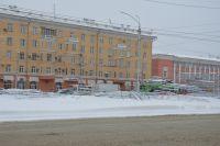 Площадь Октября в Барнауле