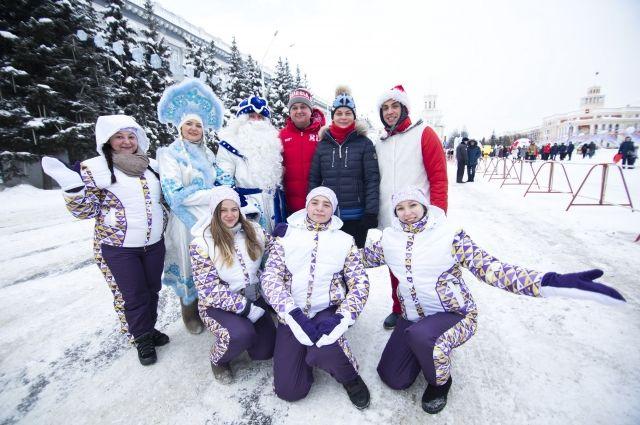 В церемонии принял участие губернатор Кемеровской области Сергей Цивилев.