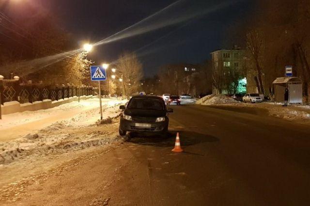 В Оренбурге водитель «Гранты» сбил 15-летнюю школьницу
