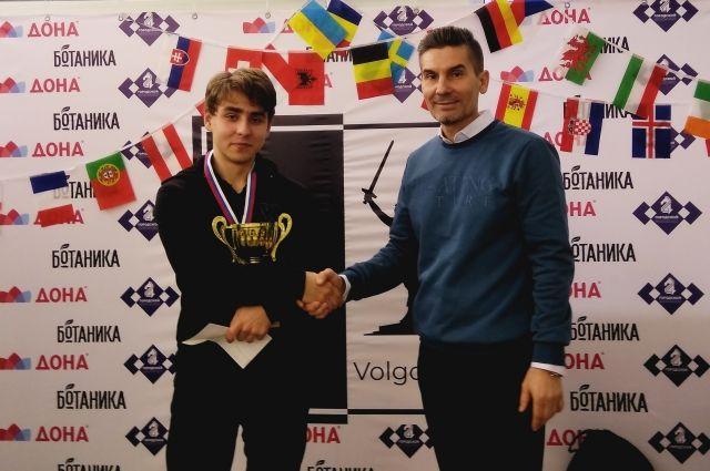 Победителем стал Григорий Любименко.