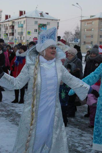 Шествие Дедов Морозов в Ялуторовске, 2018.