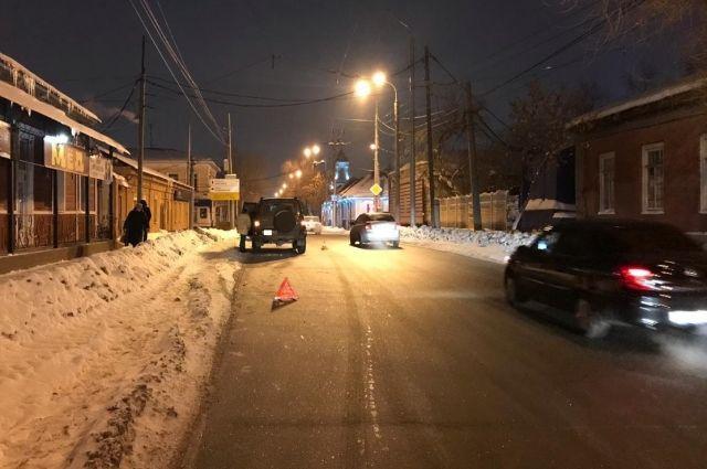 В центре Оренбурга водитель «УАЗ-Патриота» сбит подростка