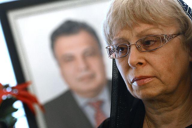 Вдова посла России в Турции Андрея Карлова Марина.
