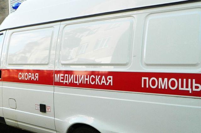 В Илекском районе в больницу доставлена мать и двое детей.