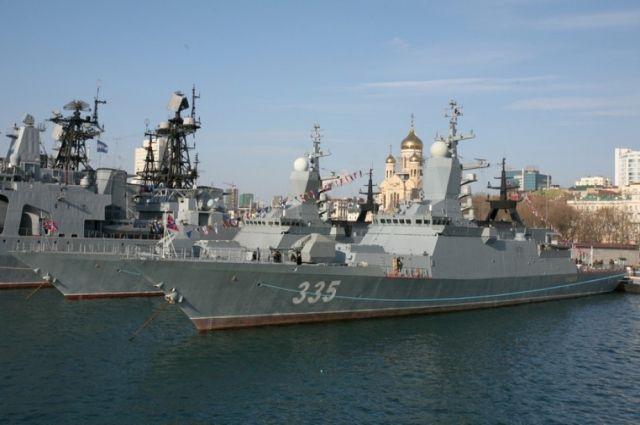 Корабль построили на Амурском судостроительном заводе.