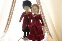 Рукодельные куклы - почти как  настоящие казаки.
